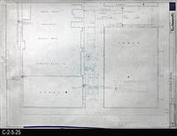 Blueprint - 1969 - Corona Mall - Redevelopment Project - Landscape Sprinkler...