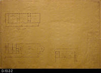 Blueprint - 1963 - Civic Center - First and Second Floor - East Wing