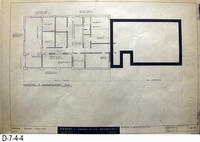 Blueprint - 1962 - Corona Police Facility - Page A-3:  Demolition and Reconstruction...