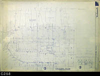 Blueprint - 1968 - Corona Mall - Redevelopment Project - Grading Plan - A3