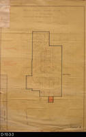 Blueprint  - 1970 - Parcel Map for the Corona Downtown Redevelopment Project...