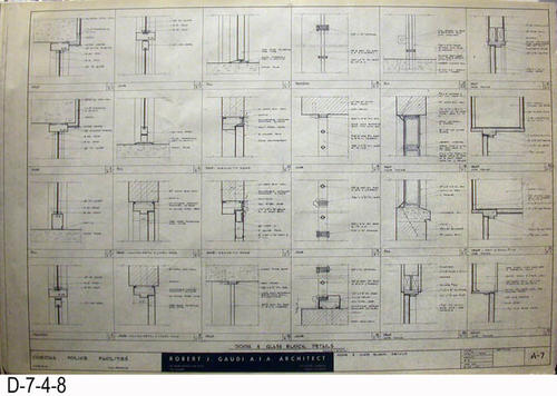 Blueprint 1962 corona police facility page a 7 door and glass blueprint 1962 corona police facility page a 7 door and glass block details malvernweather Image collections