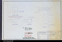 Blueprint - Corona Public Library -  Furniture Plans