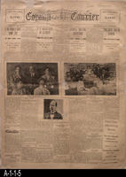 Newspaper - 1908 - Corona Courier - Four lead stories - Local News