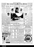Newspaper - 1913 - Reproduction - Los Angeles Times, Part 7 - Corona Road Races...