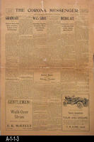 June 25, 1908 - The Corona Messenger - Full edition
