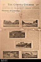 Newspaper - 1905 - The Corona Courier - Articles By Prominent Corona Citizens...