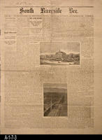 Newspaper - 1887 - South Riverside Bee - Area News and Classified Ads - Vol....