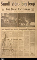 Newspaper - 1969 - The Daily Enterprise - Corona-Norco Edition - Man on the...