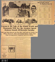 Newspaper - 1913 - Corona Courier - Corona Car Racing