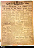 Newspaper - 1916 - Los Angeles Times - Parts 1 and 2 - International, National,...