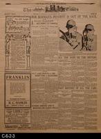 Newspaper - 1914 - Reproduction - Los Angeles Times - Corona Road Racing