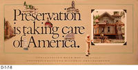 Poster - Preservation Week - National Trust for Historical Preservation