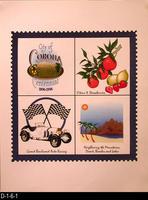 Poster - City of Corona Centennial 1896-1996