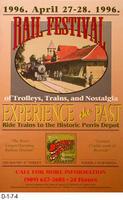 Poster - April 1996 Rail Festival