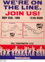 Poster - Hands Across America