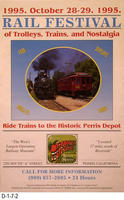 Poster - 1995 Rail Festival