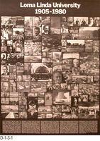 Poster - Loma Linda University 1905-1980