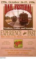 Poster - October 1996 Rail Festival