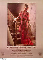 Poster - A Century of Costumes, 1883 - 1983