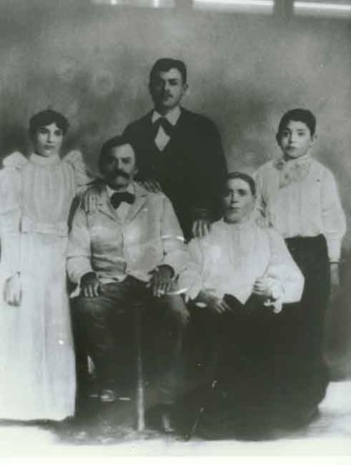 Family Wedding Photo in Durango, Mexico