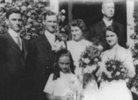 Wedding of Frank Burman Ware and Mary Inez Kirby