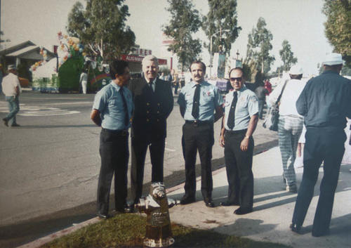 Dedication held at the Corona Civic Center in memory of fallen Corona fire fighters.  Captain Richard Hernandez, Chief Robert McNabb, Captain Ralph Davis, Captain Paul Ruiz.  Captain Hernandez was the first Latino fire fighter in Corona.