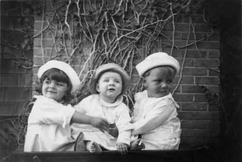 From left, Hetty Joy Elmore, Theodore Jameson Todd, Clement Jameson Todd. The photo is from the collection of Adelaide Jameson David.