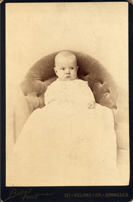 Frank Foote, son of Addle Sarah Jameson Foote, Addie was the sister of W. H. Jameson II. Photo from the collection of Adelaide Jameson David.