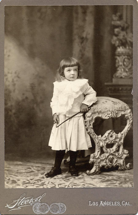 Adelaide Jameson, c. 1904. From the collection of Adelaide Jameson David.