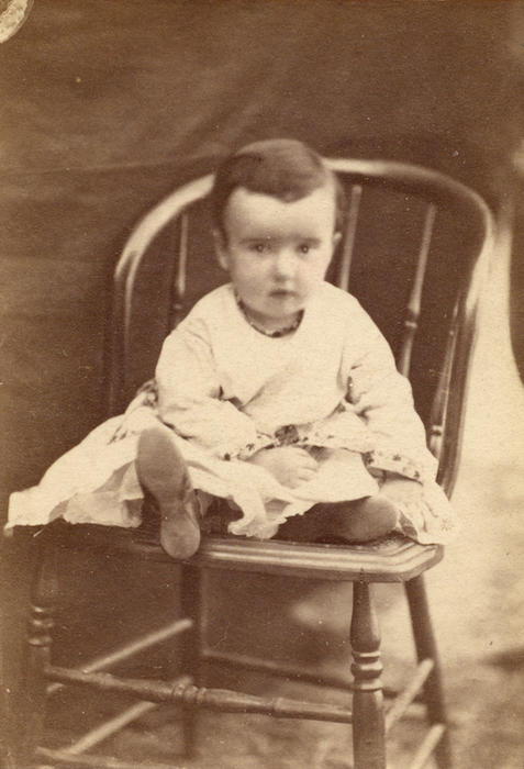 Nathaniel Joy Hudson was the son of Nathaniel Carlos Hudson and Helen Rosetta Joy Hudson. Photo from the collection of Adelaide Jameson David.