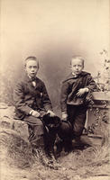 Photo of Henry and Frank Chapman