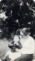 Eloise Jameson with someone's child