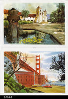 1969 - Standard Oil Co. California Bicentennial Print Series Nos. 13 and 27
