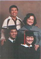 Julie Luna Family Graduation Photo
