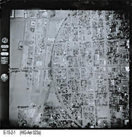 Aerial Photo - 1955 - Main Street  between 5th and North Grand