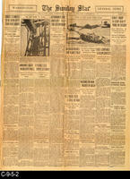 1929 - The Sunday Star - Three separate lead articles
