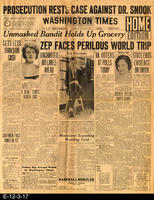 1929 - Zep Faces Perilous World Trip