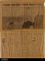 1908 - San Francisco Examiner - Thunder of Guns Greet the World's Greatest Armada...