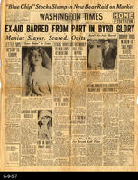 1930 - Ex-Aid Barred From Part In Byrd Glory
