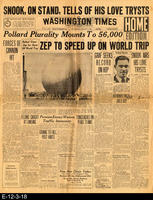 1929 - Zep To Speed Up On World Trip