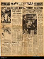 1929 - The Washington Hearld - Lloyd George Sees Liberal Victory in Britain...