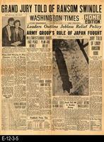 1932 - Washington Times - Grand Jury Told of Ransom Swindle