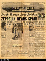 1929 - Zep 600 Miles At Sea
