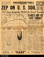 1929 - Zep On U. S. Soil