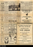 1929 - The Sunday Star, Washington D. C. - Charles A. Lindbergh Coverage