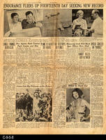 1930 - Endurance Fliers Up Fourteenth Day Seeking New Record