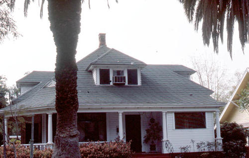 This slide is of the Corona residence located at 822 S. Joy Street.  It was taken during April 1985. - SLIDE CONDITION:  Good