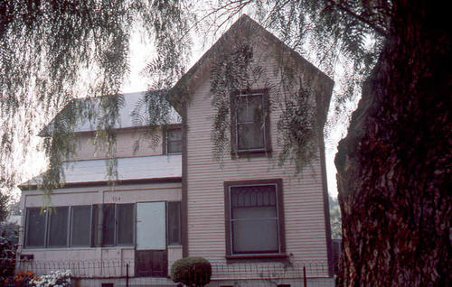 This slide is of the Corona residence located at 704 S. Joy Street.  It was taken during April 1985. - SLIDE CONDITION:  Good