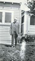 R.B. Taylor In Backyard